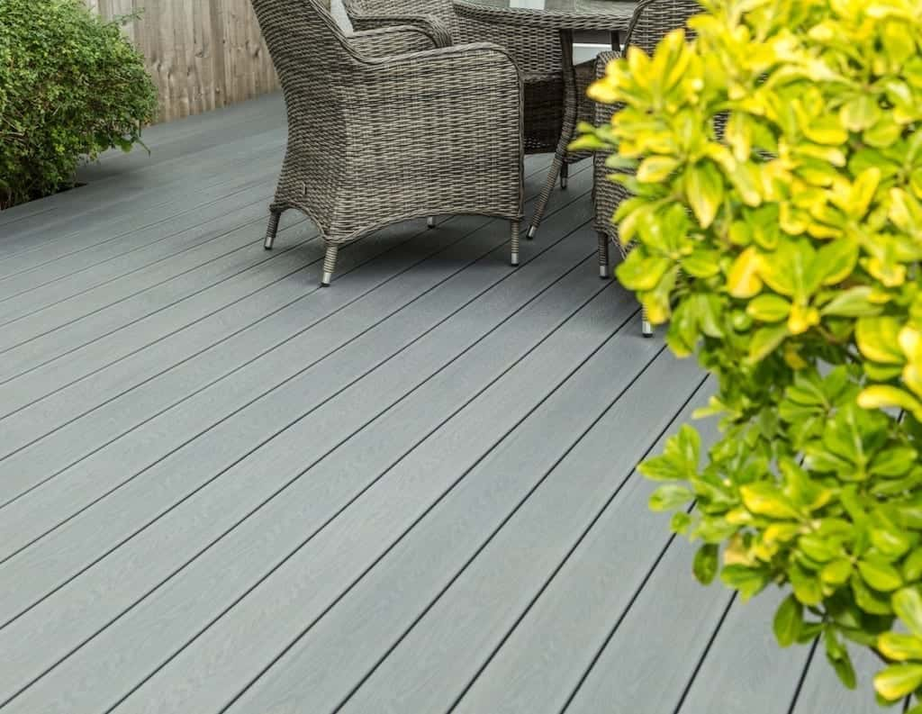 great looking composite decking