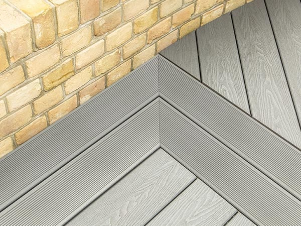 fitting composite decking